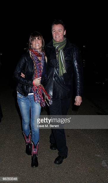 Paul and Stacey Young and other celebrities attend the opening night of the 'Winter Wonderland' launch party in Hyde Park which is a major family...