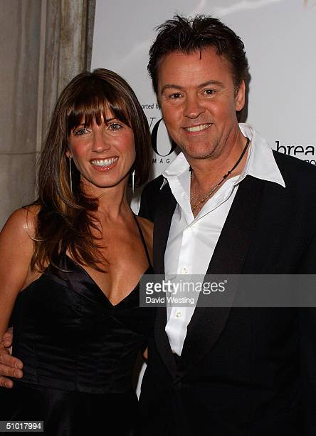 Paul and Stacey Young arrive at Breakthrough For Breast Cancer's 'The Art Of Fashion' gala event for 'Fashion Targets Breast Cancer' at The Savoy...