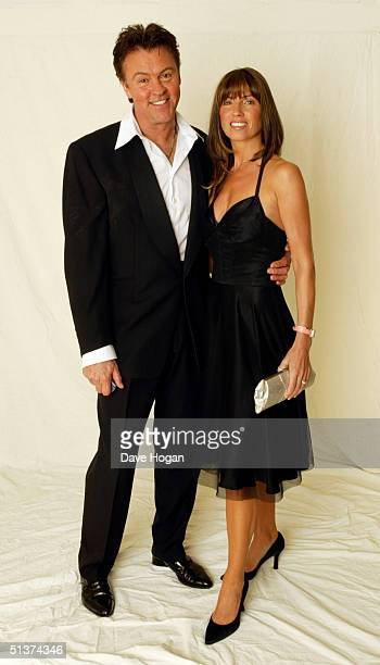 Paul and Stacey Young pose at Breakthrough Breast Cancer's 'The Art Of Fashion' gala event for 'Fashion Targets Breast Cancer' at The Savoy Hotel on...