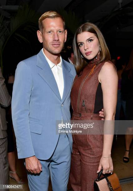 Paul Andrew and Julia Fox attend ELLE Ferragamo Hollywood Rising Celebration on October 11 2019 in West Hollywood California