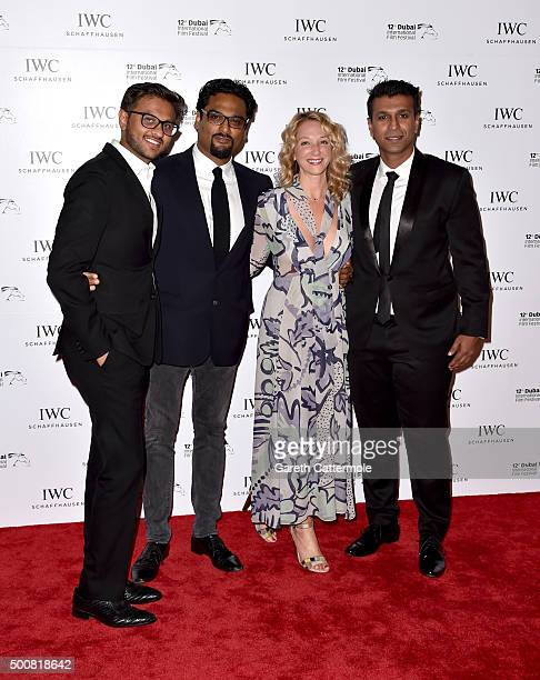 Paul Angunawela and guests attend the IWC Filmmakers Award during day two of the 12th annual Dubai International Film Festival held at The One and...