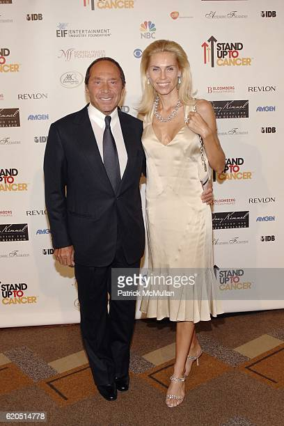 Paul Anka and Anna Anka attend Stand Up To Cancer at Kodak Theatre on September 5 2008 in Hollywood CA