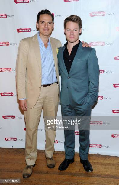 Paul Anthony Stewart and Randy Harrison attend 'Harbor' Opening Night After Party at Park Avenue Armory on August 6 2013 in New York City