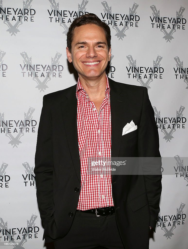 Paul Anthony Stewart attends the opening night After Party for 'The Landing' at Vineyard Theatre on October 23, 2013 in New York City.