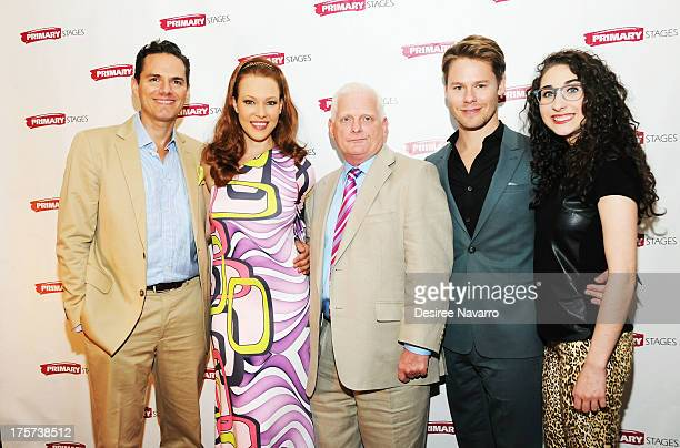Paul Anthony Stewart Erin Cummings Ted Snowdon Randy Harrison and Alexis Molnar attend 'Harbor' Opening Night After Party at Park Avenue Armory on...