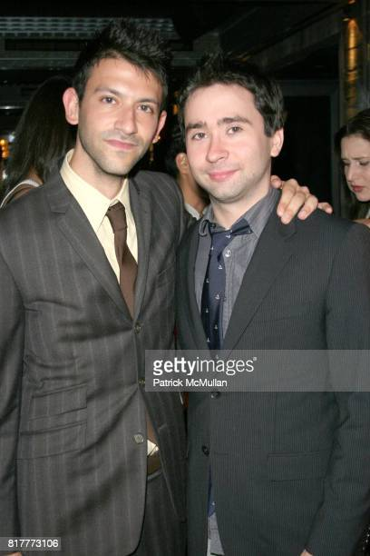 Paul Arnhold and Max Brooks attend JUNIOR SOCIETY Benefit With Special Performance by BALLET HISPANICO at Covet Lounge on October 21 2010 in New York...