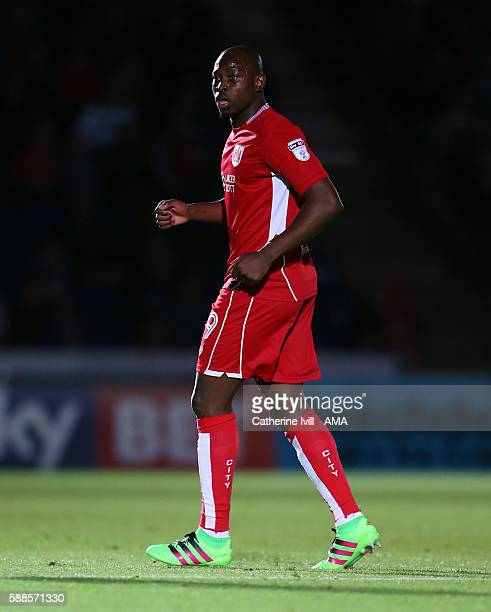Paul Arnold Garita of Bristol City during the EFL Cup match between Wycombe Wanderers and Bristol City at Adams Park on August 8 2016 in High Wycombe...