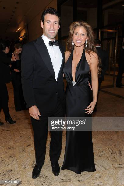 Paul Arrouet and Dylan Lauren attend an evening with Ralph Lauren hosted by Oprah Winfrey and presented at Lincoln Center on October 24 2011 in New...