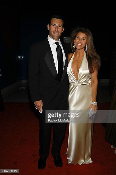 Paul Arrouet and Dylan Lauren attend CHRISTIE'S BLACK and WHITE BALL To Celebrate The Plaza Hotel Auction at Christie's on March 14 2006 in New York...
