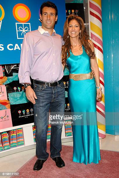 Paul Arrouet and Dylan Lauren attend DYLAN LAUREN Celebrates the ReLaunch of DYLANS CANDY BAR at Dylan's Candy Bar on October 27 2008 in New York City