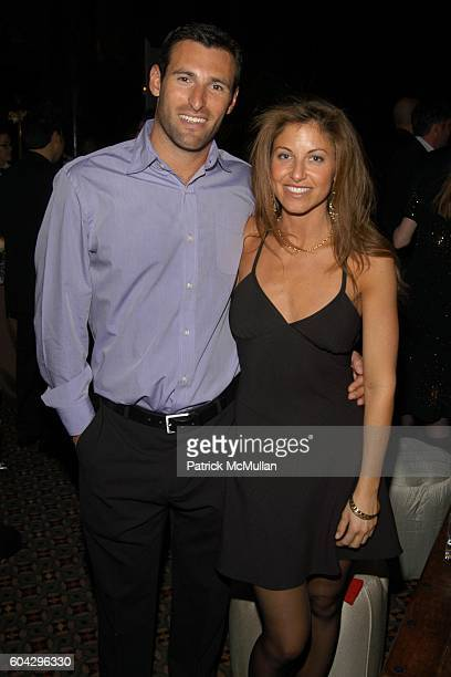 Paul Arrouet and Dylan Lauren attend LIZZIE GRUBMAN and CHRIS STERN Wedding Reception at Cipriani 42nd on March 18 2006 in New York City