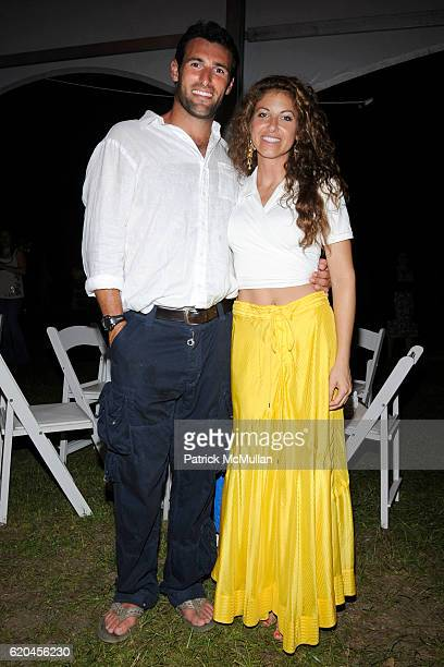 Paul Arrouet and Dylan Lauren attend NARSAD hosts a celebration of the arts MYSTERIES OF THE MIND at Twin Oaks Farm and Sculpture Garden on June 28...