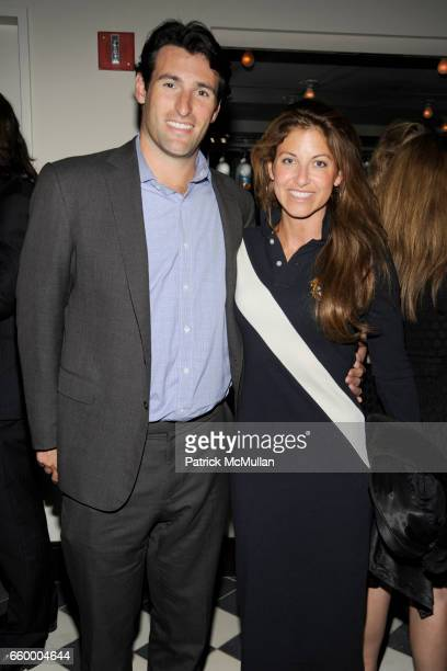 Paul Arrouet and Dylan Lauren attend THE CINEMA SOCIETY THE WALL STREET JOURNAL with BROOKS BROTHERS JAEGERLECOULTRE host the after party for 'EASY...