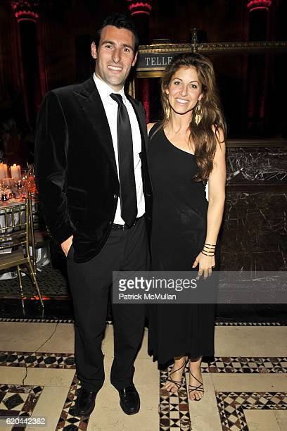 Paul Arrouet and Dylan Lauren attend THE MUSEUM OF THE MOVING IMAGE SALUTES BEN STILLER at Cipriani 42nd Street on November 12 2008 in New York City