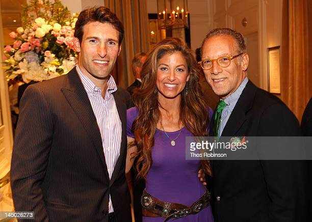 Paul Arrouet Dylan Lauren and Phil Faust attend the Ralph Lauren celebration for the publication of The Hamptons Food Family and History by Ricky...