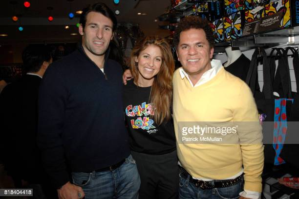 Paul Arrouet Dylan Lauren and Romero Britto attend Candy Lover Dylan's Candy Bar hosts VIP opening event for Romero Britto at Dylan's Candy Bar on...