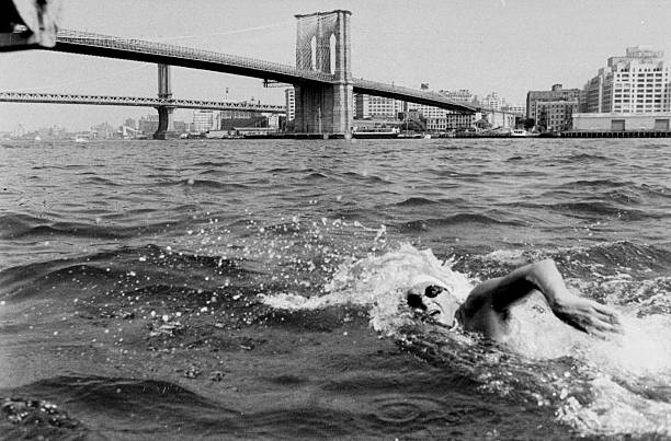 Paul Asmuth, 26,of the Manhattan Island Swimming Association
