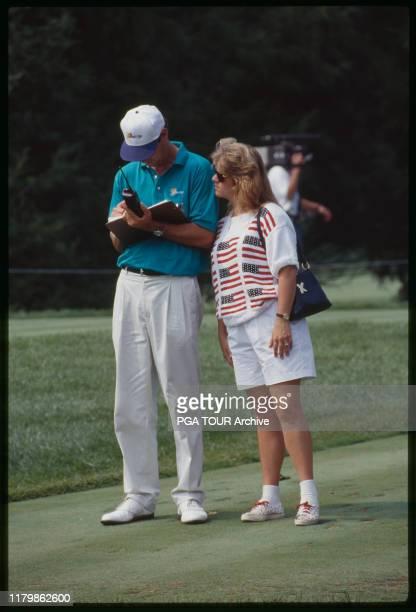 Paul Azinger Toni Azinger Presidents Cup September Robert Trent Jones Golf Club Gainesville Virginia Photo by Rusty Jarrett/PGA TOUR Archive via...