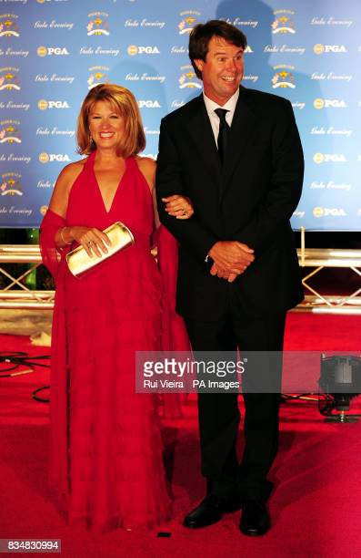 Paul Azinger with wife Toni arrive for the Ryder Cup Gala at The Kentucky Centre Louisville