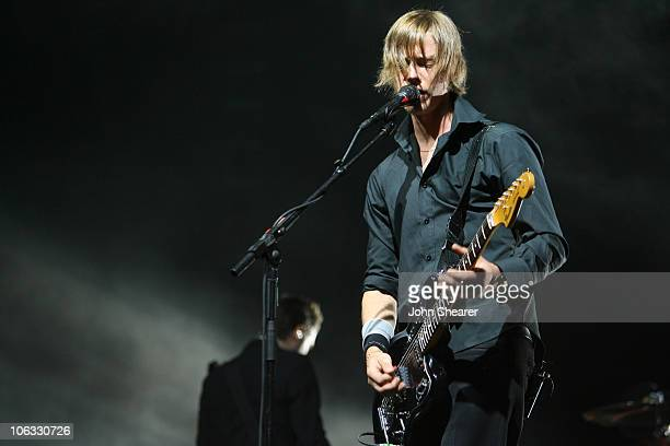 Paul Banks of Interpol during 2007 Coachella Valley Music and Arts Festival Day 1 at Empire Polo Field in Indio California United States