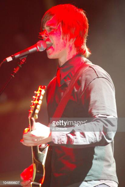 Paul Banks of Interpol in Concert during Interpol in Concert at the Fillmore at The Fillmore Auditorium in San Francisco California United States