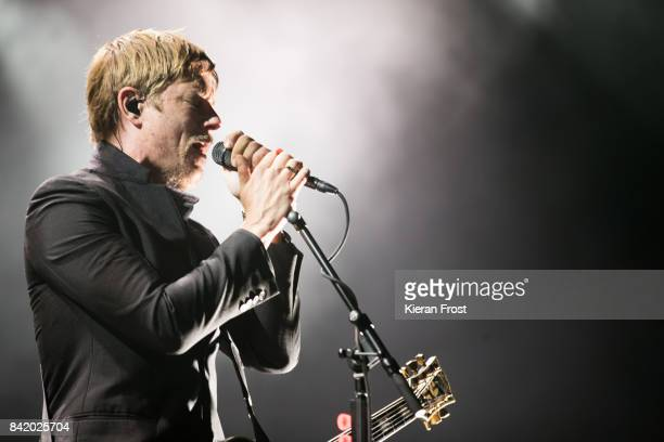 Paul Banks of Interpol performs at Electric Picnic Festival at Stradbally Hall Estate on September 2, 2017 in Laois, Ireland.