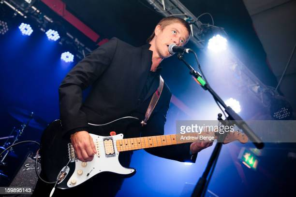 Paul Banks performs on stage at Sound Control on January 22 2013 in Manchester England