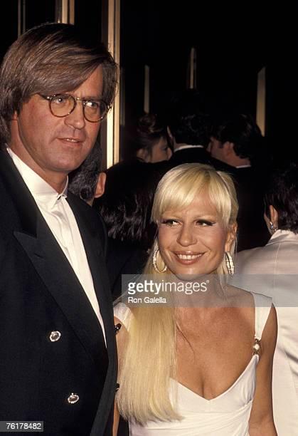 Paul Beck and Donatella Versace