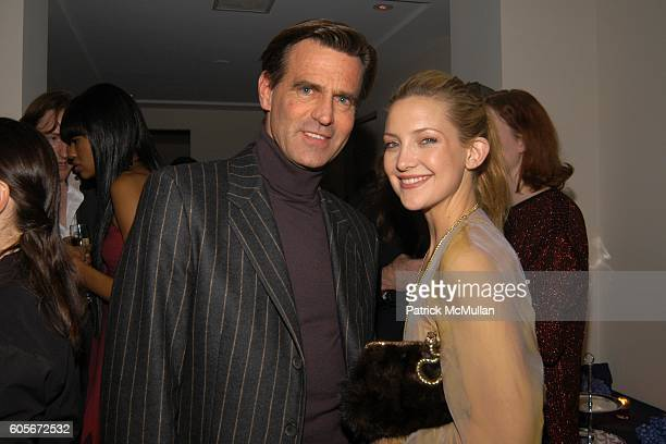 Paul Beck and Kate Hudson attend VERSACE VIP Dinner at 1 Beacon Court on February 7 2006 in New York