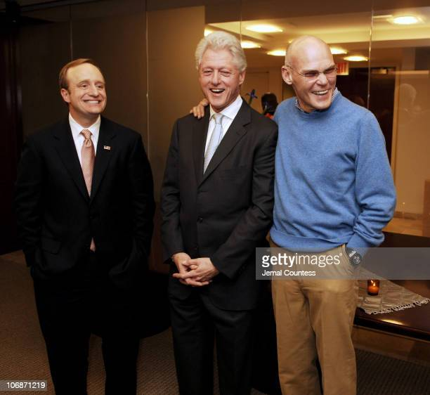 Paul Begala Former President Bill Clinton and James Carville