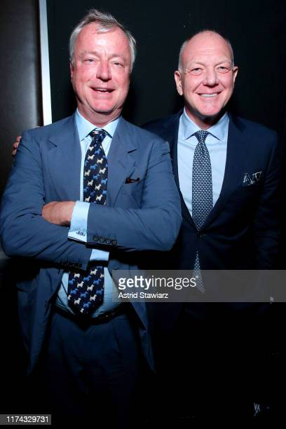 Paul Beirne and Scott Mathis attend the Gaucho Buenos Aires runway show at New York Fashion Week 2019 at The Kitchen NYC on September 12 2019 in New...
