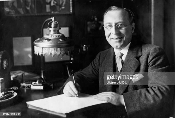 Paul Bendix, *1870 - 1939+, german vocal comedian and composer- Vintage property of ullstein bild 2:2