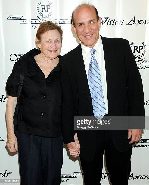 Paul BenVictor and mother Leah Kornfeld Friedman arrive for The 36th Annual Vision Awards at the Beverly Wilshire Hotel in Beverly Hills California...