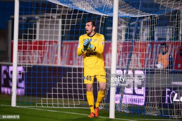 Paul BERNARDONI Troyes / Bastia 18eme journee de Ligue 1 Photo Dave Winter / Icon Sport