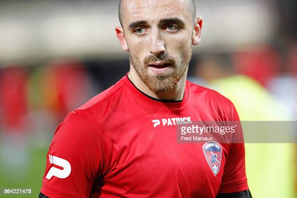 Paul Bernardoni of Clermont during the Ligue 2 match between Nancy and Clermont at on October 20 2017 in Nancy France