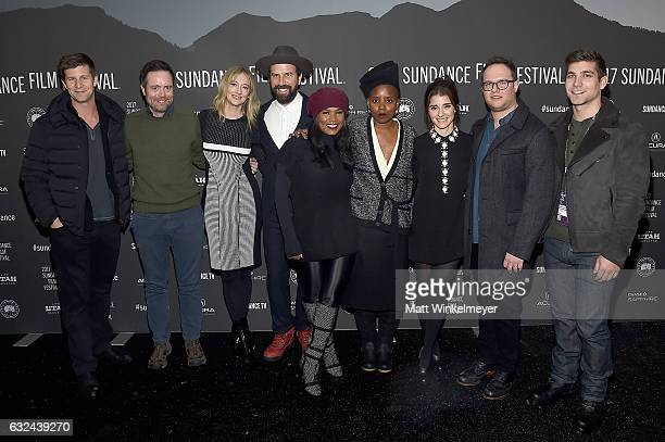 Paul Bernon Jon Daly Judy Greer Brett Gelman Nia Long Janicza Bravo Shiri Appleby Sam Slater and David Bernon attend the Lemon Premiere on day 4 of...
