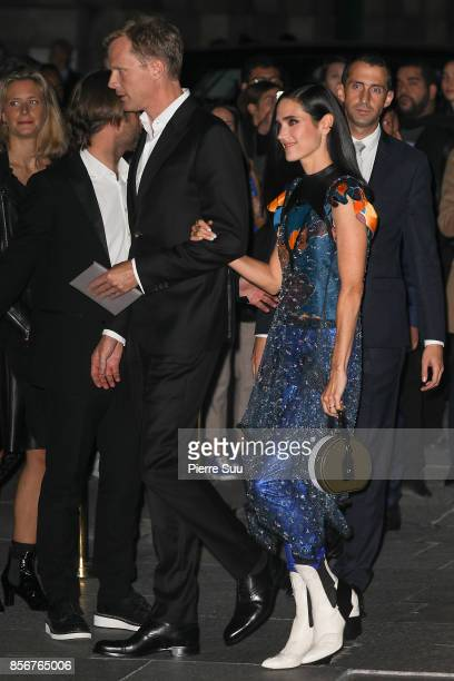 Paul Bettany and Jennifer Connelly arrive at the Opening Of The Louis Vuitton Boutique as part of the Paris Fashion Week Womenswear Spring/Summer...