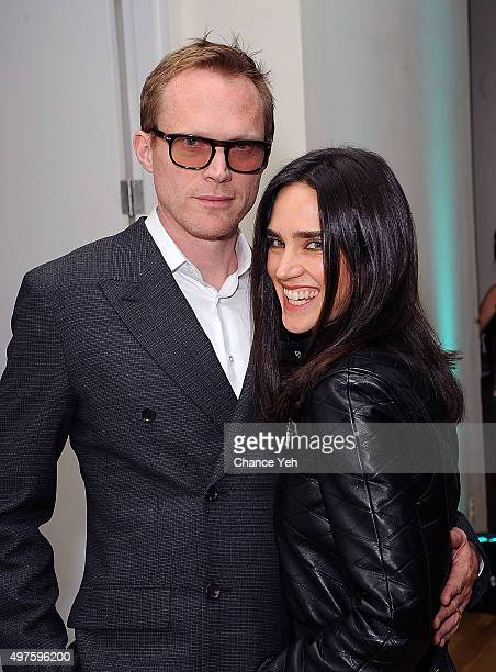 Paul Bettany and Jennifer Connelly attend Artwalk NY 2015 at Metropolitan Pavilion on November 17 2015 in New York City