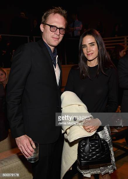 Paul Bettany and Jennifer Connelly attend In The Heart Of The Sea New York Premiere after party at Appel Room on December 7 2015 in New York City