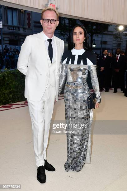 Paul Bettany and Jennifer Connelly attend the Heavenly Bodies Fashion The Catholic Imagination Costume Institute Gala at The Metropolitan Museum of...