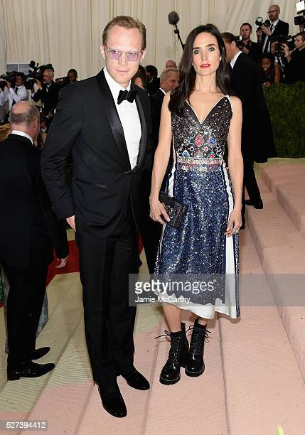 Paul Bettany and Jennifer Connelly attend the 'Manus x Machina Fashion In An Age Of Technology' Costume Institute Gala at Metropolitan Museum of Art...