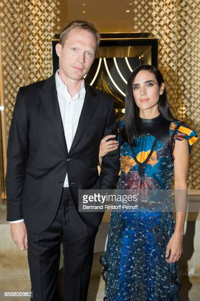 Paul Bettany and Jennifer Connelly attend the Opening Of The Louis Vuitton Boutique as part of the Paris Fashion Week Womenswear Spring/Summer 2018...