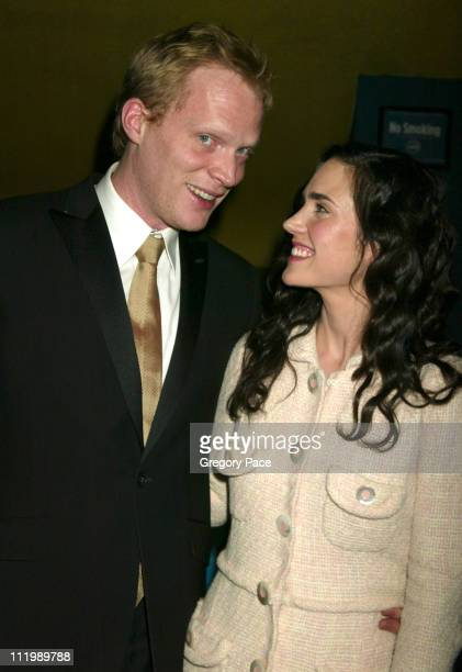 Paul Bettany and Jennifer Connelly during 'House Of Sand And Fog' New York Premiere at Chelsea West Theatre in New York City New York United States