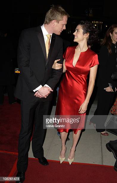 Paul Bettany and Jennifer Connelly during 'Master Commander The Far Side of the World' Los Angeles Premiere at Academy Theatre in Beverly Hills...