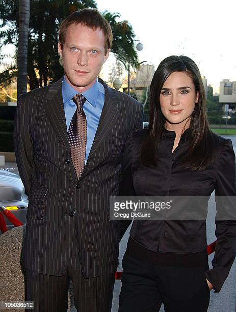 Paul Bettany and wife Jennifer Connelly during The 9th Annual BAFTA/LA Tea Party at Park Hyatt Hotel in Los Angeles California United States