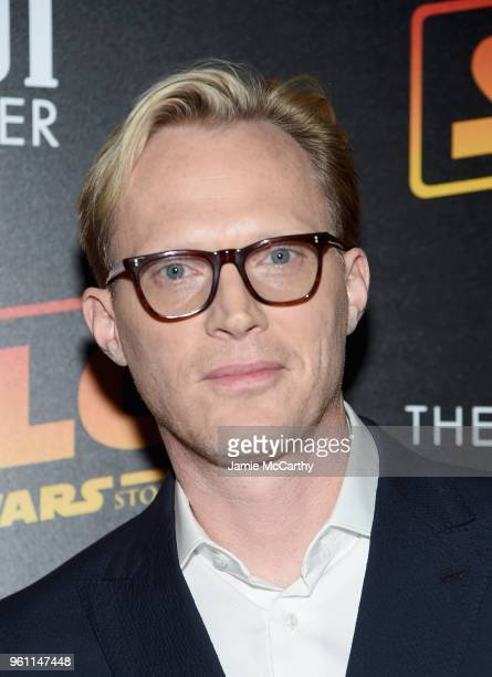 Paul Bettany attends a screening of 'Solo A Star Wars Story' New York Premiere on May 21 2018 in New York City