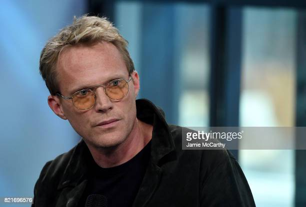 Paul Bettany attends Build to discuss 'Manhunt UNABOMBER' at Build Studio on July 24 2017 in New York City