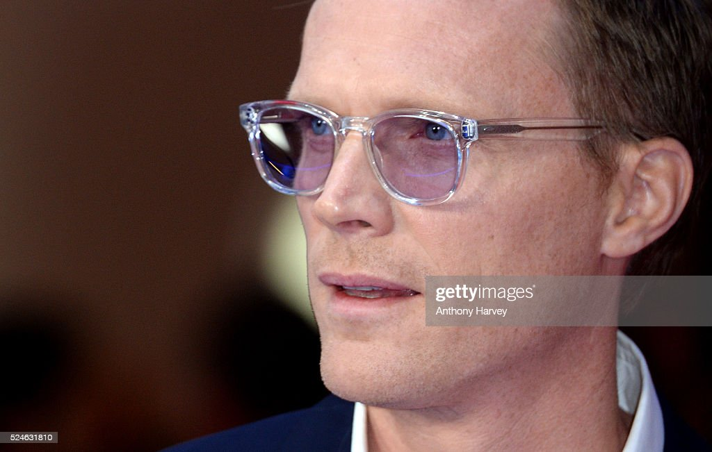 Paul Bettany attends the European premiere of 'Captain America: Civil War' at Vue Westfield on April 26, 2016 in London, England