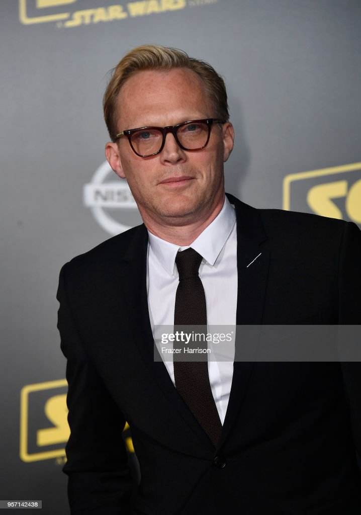 Paul Bettany attends the premiere of Disney Pictures and Lucasfilm's 'Solo: A Star Wars Story' at the El Capitan Theatre on May 10, 2018 in Los Angeles, California.