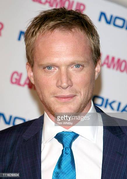 Paul Bettany during Glamour Women of the Year Awards 2006 Inside Arrivals at Berkeley Square in London Great Britain